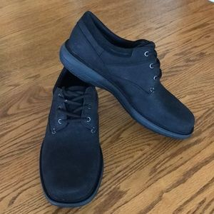 NIB Merrell World Vue Lace Black Shoe